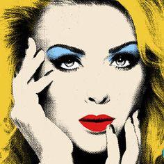 Single Panel Andy Warhol Style Custom Pop Art Canvas, Poster or Print
