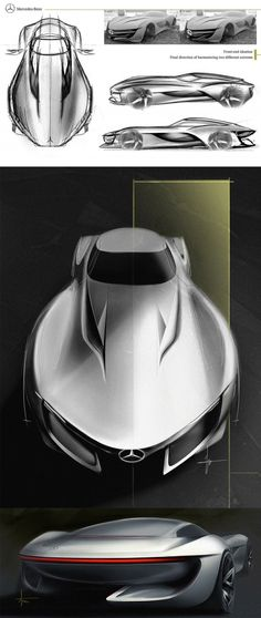 Daily Sketch: MB SL Concept by Subum Lee gallery: http://buff.ly/1BdQmjn Check his work at https://www.behance.net/gallery/24308879/benz-sl?utm_content=buffer2882c&utm_medium=social&utm_source=pinterest.com&utm_campaign=buffer