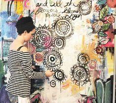 Art Journal WALL alisa burke