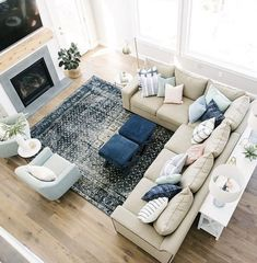 cozy living room seating arrangement design 2020 40 ~ INSPIRA Room D. cozy living room seating arrangement design 2020 40 ~ INSPIRA Room Design with sectiona Living Room Sectional, Living Room Seating, Cozy Living Rooms, Home Living Room, Living Room Designs, Living Room Decor, Family Room With Sectional, Sectional Furniture, Family Room Decorating