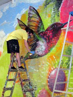 artfulstreets:    Cern @ Work (by LoisInWonderland)