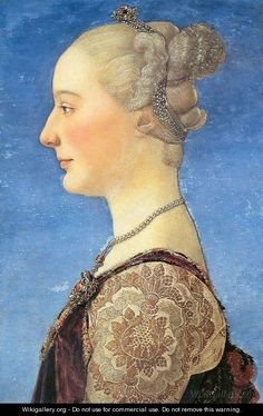 Portrait of a Woman by Antonio Del Pollaiuolo