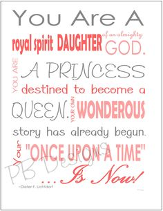 lds quotes on womanhood   Lds Quotes For Young Women Pictures