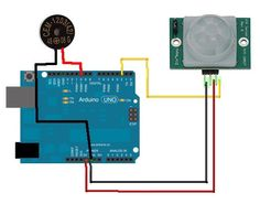 Using a PIR to detect movement. Rfid Arduino, Arduino Beginner, Small Speakers, Motion Detector, Buzzer, Tech, Kids, Diy Electronics, Young Children