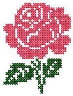Cross Stitch 1 - Set 2 : My Embroidery Haven Celtic Cross Stitch, Cross Stitch Beginner, Cross Stitch Borders, Cross Stitch Rose, Cross Stitch Flowers, Cross Stitch Designs, Cross Stitching, Cross Stitch Patterns, Embroidery Flowers Pattern