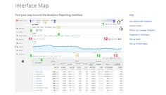 Google analytics interface map