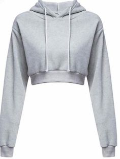 Cheap sudaderas mujer, Buy Quality cropped hoodie directly from China women crop hoodie Suppliers: Woman Crop Hoodies 2017 Autumn Chic Lace Up Long Sleeve Pullover Sweatshirt Women Crop Top Girls Black Sudaderas Mujer Hoodie Sweatshirts, Pullover Hoodie, Hoodies, Crop Top Hoodie, Cropped Hoodie, Grey Hoodie, Teenager Outfits, Girl Outfits, Fashion Outfits