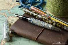 The Midori Notebook is perfect for traveling especially with the Monteverde Mountain   of the Worlds Fountain Pens!