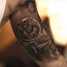 Nice tattoo done by @niki23gtr Tattoo shared by tattooistartmag on Instagram.