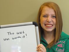 We love your smile Emily!