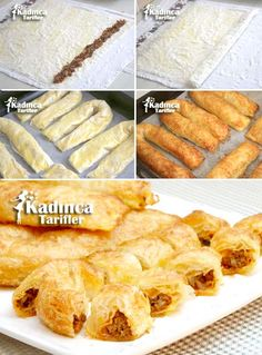Crispy Sariyer Pastry Recipe From Baklava Pastry pies pies recipes dekorieren rezepte Pastry Recipes, Cooking Recipes, Roasted Onions, Turkish Recipes, Snacks, Sweet And Salty, Perfect Food, Vegetable Recipes, Finger Foods