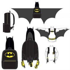 batman hooded backpack!