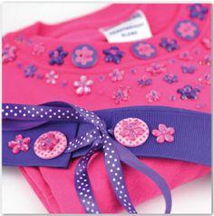 Pink Beaded Tee & Belt