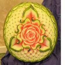 watermelon carving - Google Search