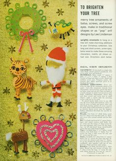 McCall's 317 Make It Christmas Ideas, 1968.