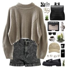 """SheIn 2"" by novalikarida ❤ liked on Polyvore featuring Boohoo, Threshold, NARS Cosmetics, Maison Margiela, Ray-Ban, Casetify and Sheinside"