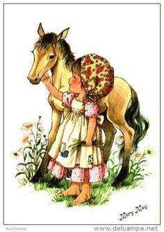 22 cartes postales de Mary May