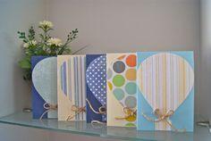 hot air balloon cards to make