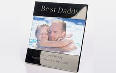 I Just Love It Personalised Best Daddy Picture Frame Personalised Best Daddy Picture Frame - Gift Details. Is your dad the best in the world? Tell him with this ?Best Daddy? engraved photo frame which is designed to hold a 6 x 4? picture of your old ma http://www.MightGet.com/january-2017-11/i-just-love-it-personalised-best-daddy-picture-frame.asp