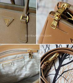 581bc8f4920c ExtraPetite.com - Review: Prada Saffiano Lux Double Zip Tote Bag Prada Bag,