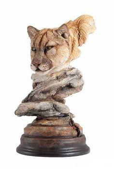 Wild Lion Decor Statue Home Figurine Kingdom Interior Roaring Animal Decorative