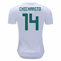 cfe8cee07 2018 World Cup Jersey Mexico Away Chicharito Replica White Shirt 2018 World  Cup Jersey Mexico Away Chicharito Replica White Shirt