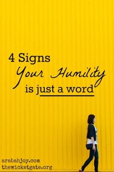 Here are 4 tips to discern whether your humility is really more than just a word