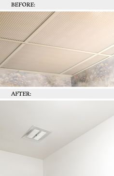 How To Remove Dated Drop Ceiling Tiles