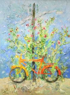 View The orange bicycle by Yannis Kottis on artnet. Browse upcoming and past auction lots by Yannis Kottis. Artist Pens, Drawing Artist, Artist Art, Bee Embroidery, Video Artist, Bicycle Art, Greek Art, Halloween Activities, Global Art