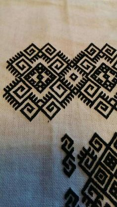 Grand Sewing Embroidery Designs At Home Ideas. Beauteous Finished Sewing Embroidery Designs At Home Ideas. Folk Embroidery, Learn Embroidery, Embroidery Stitches, Embroidery Patterns, Mandala Pattern, Mandala Design, Folk Clothing, Bargello, Yarn Projects
