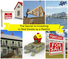 The Secret to Investing in Real Estate as a Realtor: http://www.blog.househuntnetwork.com/investing-in-real-estate-as-a-realtor/