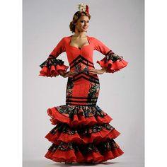 trajes de flamenca - Buscar con Google Samurai, Beauty, Google, Fashion, Coral Dress, Gypsy Party, Dancing Shoes, Moda, Fashion Styles