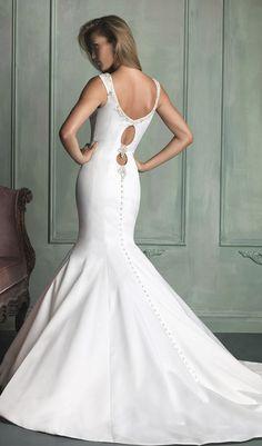 Statement back ~ Allure Bridals Spring 2014