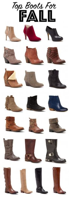 Top Boots for Fall   Chilly Weather