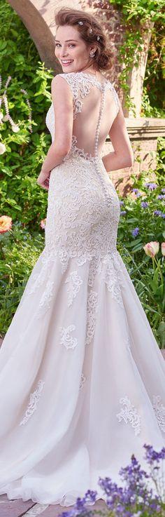Wedding Dress by Rebecca Ingram - VICTORIA | Less than $1,000 | #rebeccaingram #rebeccabride