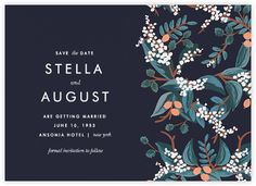 Rifle Paper Co. wedding - Paperless Post