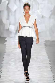 Top 2012 Trend #1: peplum (Jason Wu)