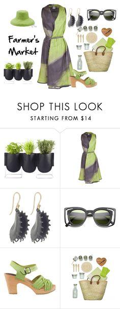 """Farmer's Market"" by blackdoor ❤ liked on Polyvore featuring Authentics, GUSTAVO LINS, Annette Ferdinandsen, Cape Clogs, ACME Party Box Company and Peter Grimm"