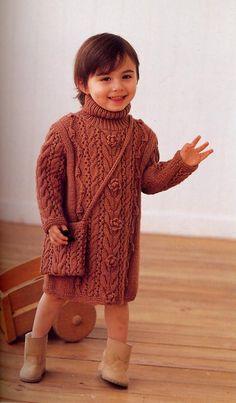 Платье-свитер для девочки.. Обсуждение на LiveInternet - Российский Сервис Онлайн-Дневников