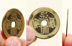 Reverse side of a very rare double obverse-sided casting error 'Shun Zhi Tong Bao' (顺治通寶) one cash coin from the reign of Emperor Shunzhi (reigned 1644-661 AD). In the 1650s he faced a resurgence of Ming loyalist resistance, but by 1661 had defeated the Qing's last enemies. The reverse side of the coin (right) appears exactly as it looks on the obverse side (left).   27mm in size; 5 grams in weight.