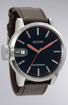 Nixon The Chronicle Watch in Navy : Karmaloop.com - Global Concrete Culture