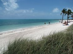 Florida Travel Keys Beaches Sandy Marathon Key