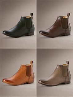 I read an article about Frye's Chelsea boots, and I fell in love... Yeah, I can wear this all-year round...