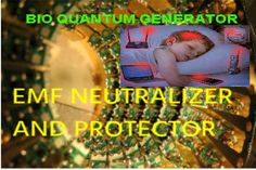 Neutralizer of harmful radiation or EMF Neutralizer and Protector.Russian EMF Protector,Bio Quantum Generator is best device for protection from cell phone,wi fi,computer,tv radioation.