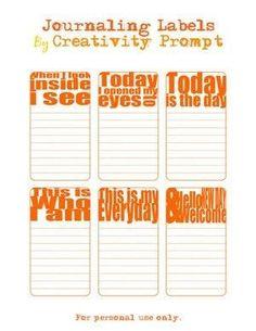 Journaling ideas | Smash Book/Art Journal Ideas by sally tb