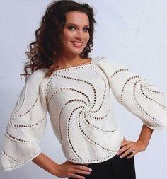 El suéter de punto