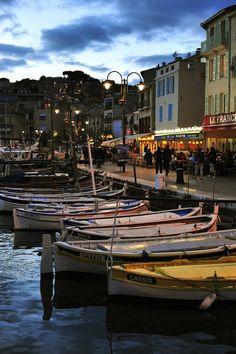 Port de Cassis, France by Angelo Ferraris, via 500px
