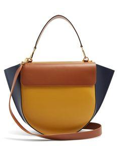 c654557179ca Hortensia leather shoulder bag | Wandler | MATCHESFASHION.COM UK Модные  Сумки, Мода Сумки