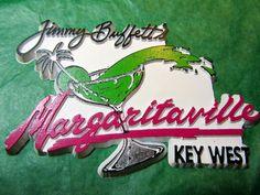 JIMMY BUFFETT'S MARGARITAVILLE KEY WEST FLORIDA TRAVEL SOUVENIR MAGNET-Lot#417