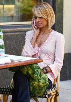 Nicole Richie's Feminine Bob Hair
